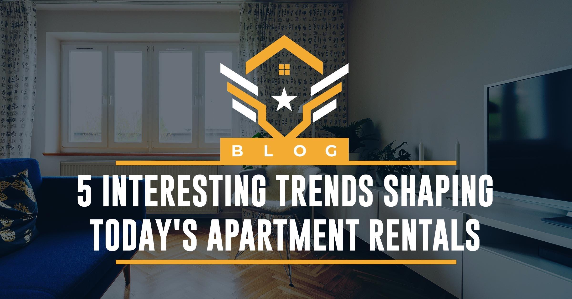 5 apartment rental trends
