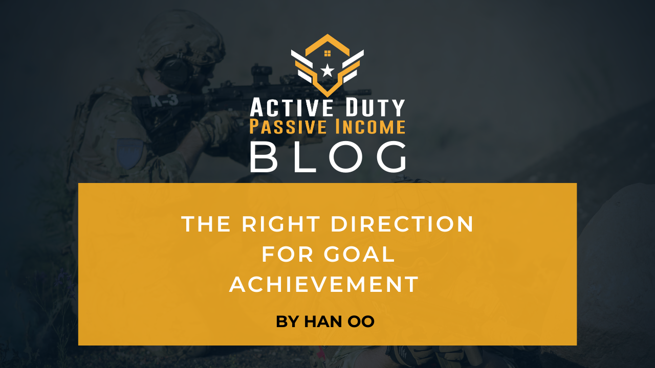 The Right Direction for Goal Achievement