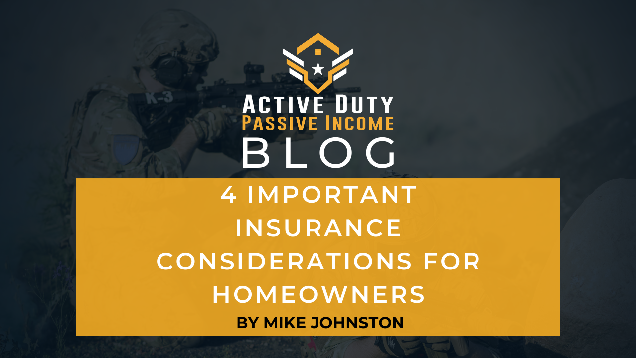 4 Important Insurance Considerations for New Homeowners