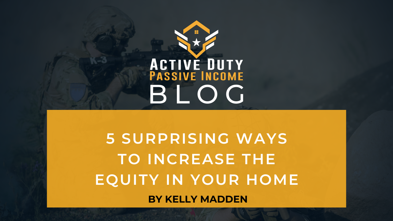 Increase the Equity in Your Home