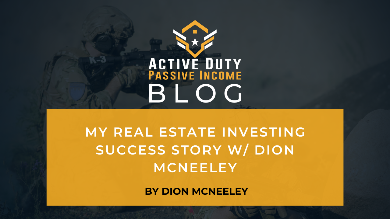 Dion Mcneely real estate investing success