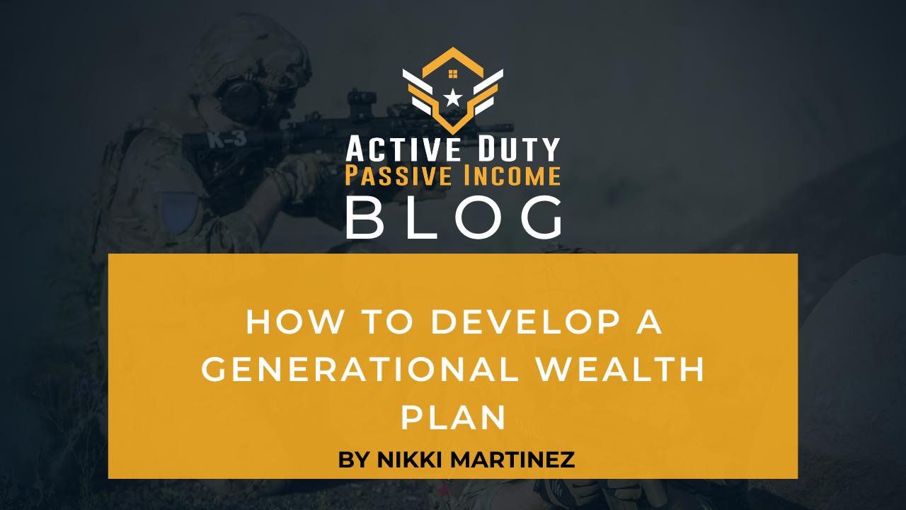Generational Wealth Plan