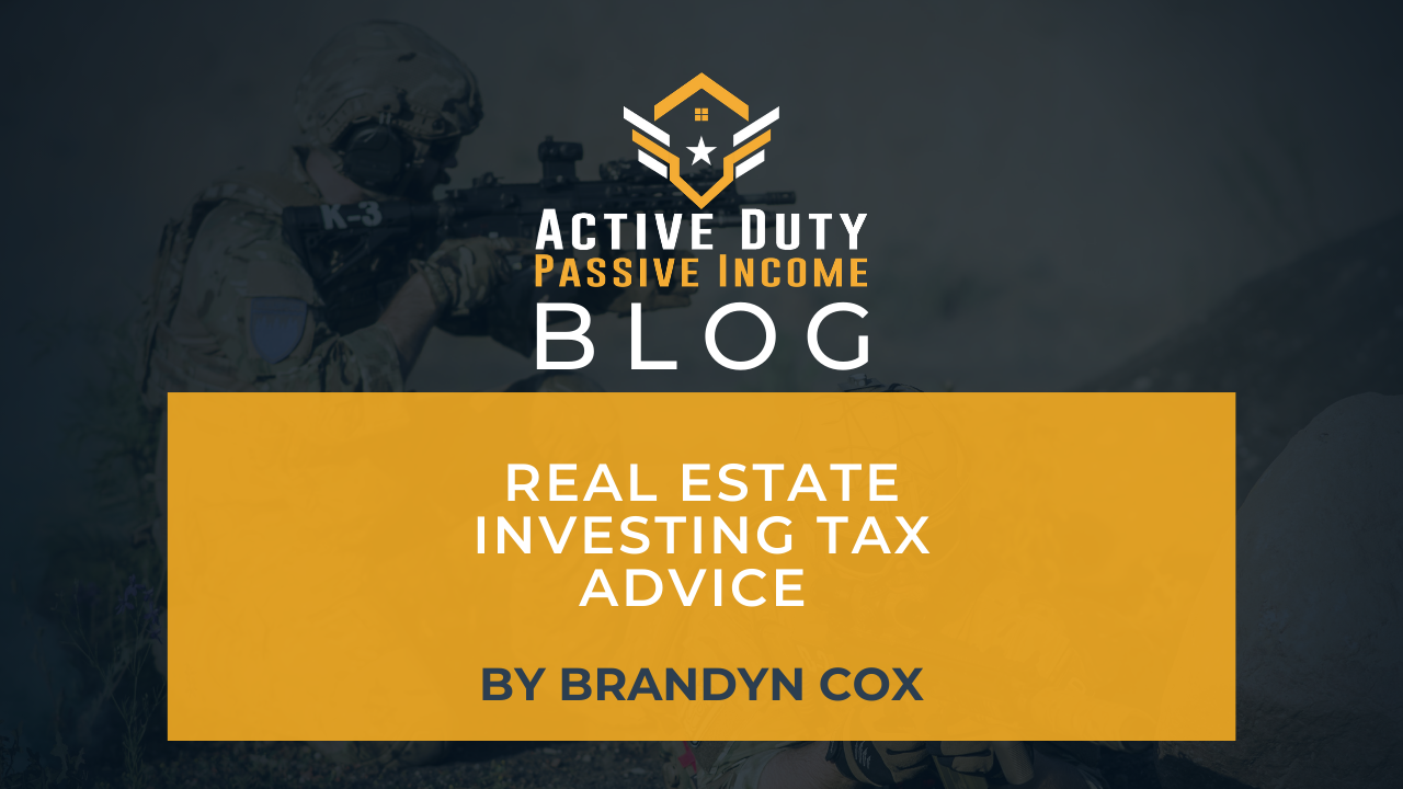 Real Estate Investing Tax Advice