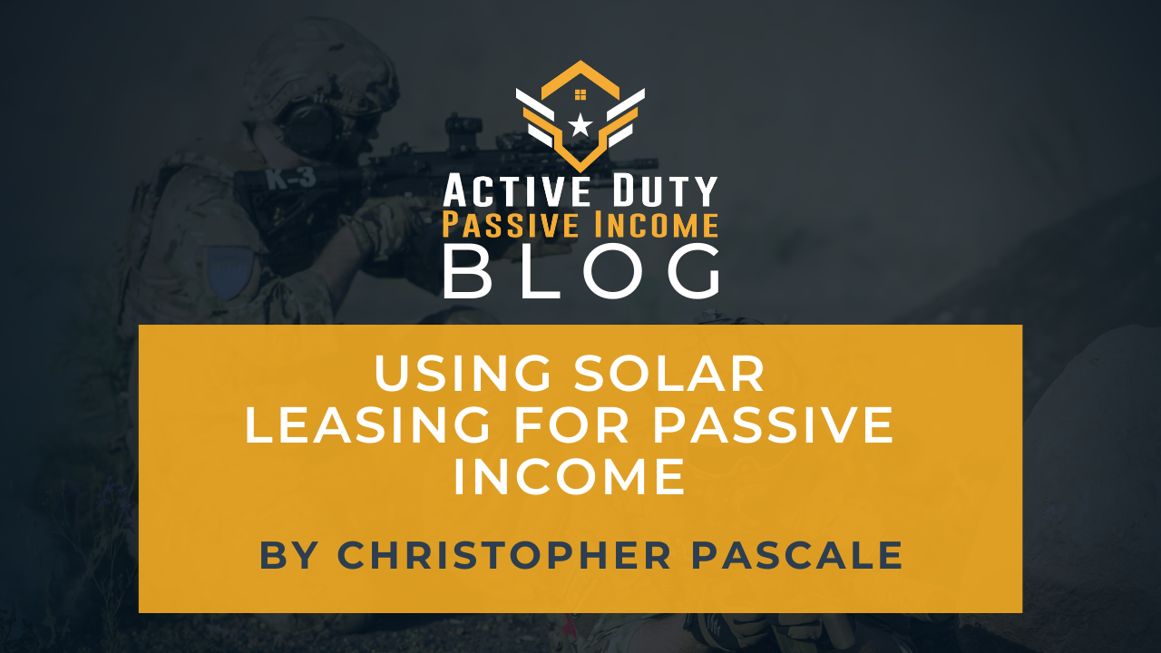 Solar Leasing for Passive Income