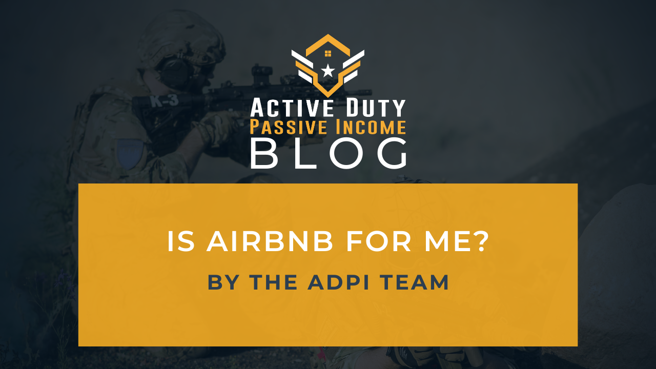airbnb investing ... is it for me?