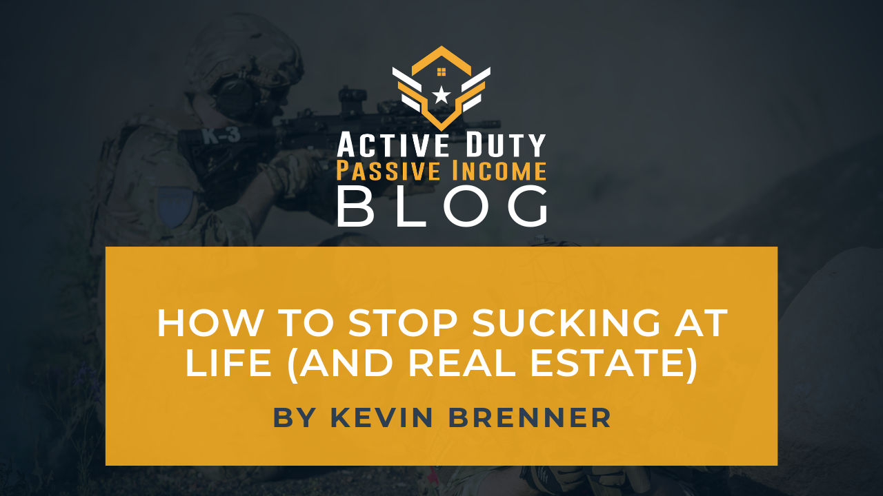 How to Stop Sucking at Life