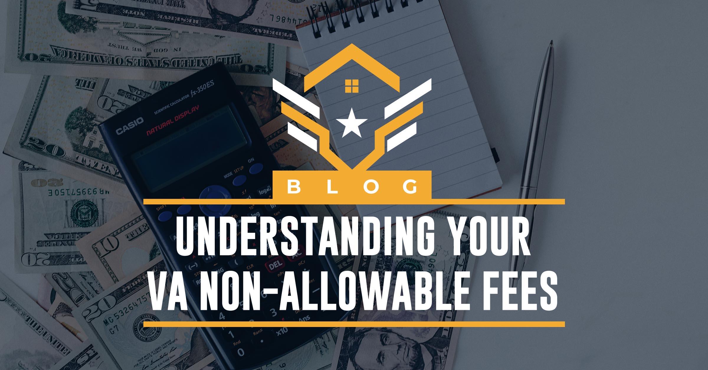 VA Non-Allowable Fees